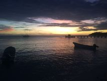 Isla de Mana, Fiji imagen de archivo libre de regalías