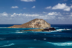 Isla de Manana, Oahu fotos de archivo