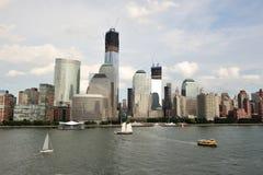 Isla de Manhattan Imágenes de archivo libres de regalías