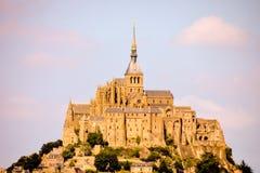 Isla de marea Normandía Francia septentrional del Le Mont Saint-Michel Fotos de archivo libres de regalías