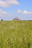 Isla de marea Normandía Francia septentrional del Le Mont Saint-Michel Imagen de archivo libre de regalías