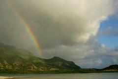 Isla de Mauritius Rainbow Fotos de archivo libres de regalías