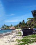 Isla de maíz grande de la playa de North End Nicaragua Fotografía de archivo