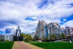 Isla de Minsk de rasgones foto de archivo