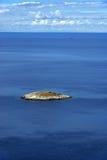 Isla de Mljet antes de la isla 05 Foto de archivo