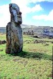 Isla de Moais- pascua Fotos de archivo