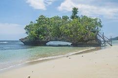 Isla de Morotai Foto de archivo libre de regalías