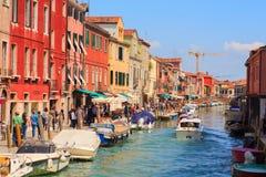 Isla de Murano Foto de archivo libre de regalías