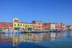 Isla de Murano de Venecia Imagenes de archivo