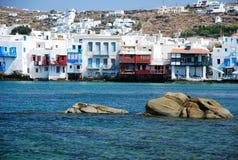 Isla de Mykonos, Grecia Imagen de archivo