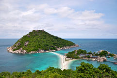 Isla de Nang Yuan Imágenes de archivo libres de regalías