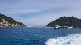 Isla de Nang Yuan imagen de archivo