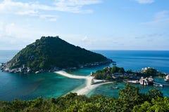 Isla de Nang Yuan en Tailandia Fotografía de archivo libre de regalías