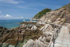 Isla de Nang Yuan en Tailandia Fotos de archivo libres de regalías