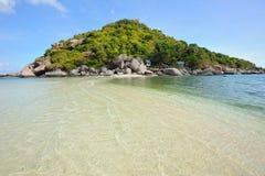 Isla de Nangyuan en Tailandia Imagenes de archivo