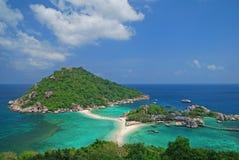 Isla de Nangyuan, Tailandia Imagenes de archivo