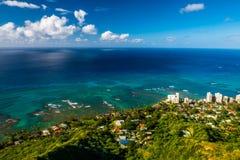 Isla de Oahu imagenes de archivo