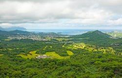 Isla de Oahu, Hawaii foto de archivo