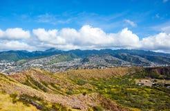 Isla de Oahu, Hawaii imagen de archivo