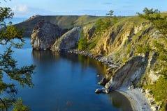 Isla de Olkhon en el lago Baikal Fotos de archivo libres de regalías