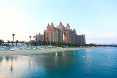 Isla de palma Dubai Fotografía de archivo