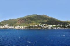 Isla de Panarea. Italia. Fotos de archivo
