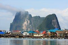 Isla de Panyee, Tailandia Fotos de archivo libres de regalías