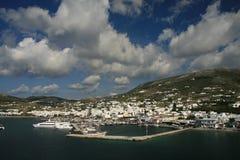 Isla de Paros, Grecia fotografía de archivo