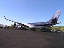 Isla de pascua - aeropuerto de Mataveri Fotos de archivo libres de regalías