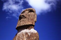 Isla de pascua - jefe de Moai I Imagenes de archivo