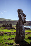 Isla de Pascua Rapa Nui остров пасхи стоковое фото