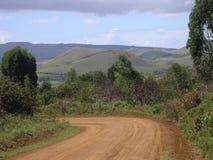 Isla de pascua - ruta a Rano Kau Imagenes de archivo