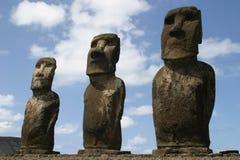 Isla de pascua Threesome Foto de archivo