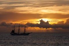 Isla de pascua Threesome Imagenes de archivo