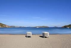 Isla de Patmos, Grecia Fotos de archivo