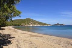 Isla de Patmos, Grecia Imagenes de archivo