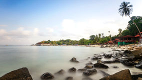 Isla de Perhentian en Malasia Imágenes de archivo libres de regalías