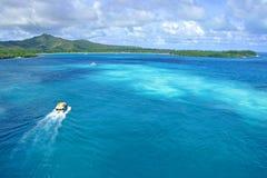Isla de pinos, Nueva Caledonia Imagen de archivo