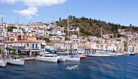 Isla de Poros. Grecia Fotografía de archivo