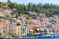 Isla de Poros - Grecia Fotos de archivo libres de regalías