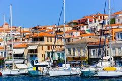 Isla de Poros - Grecia Imagenes de archivo