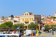 Isla de Poros, Grecia Foto de archivo