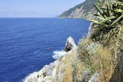 Isla de Portovenere Palmaria Imagen de archivo libre de regalías