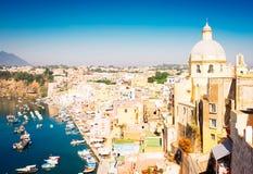 Isla de Procida, Italia Fotos de archivo libres de regalías