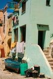 Isla de Procida, puerto de Corricella Imagen de archivo libre de regalías