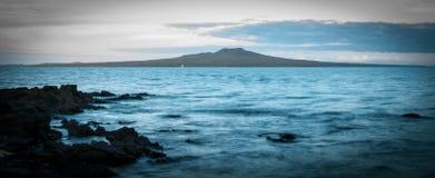 Isla de Rangitoto Imagenes de archivo