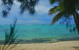 Isla de Rarotonga Foto de archivo libre de regalías