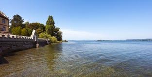 Isla de Reichenau - el lago de Constanza, Baden-wurttemberg, alemana Fotografía de archivo