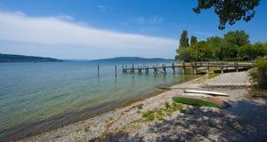 Isla de Reichenau - el lago de Constanza, Baden-wurttemberg, alemana Foto de archivo