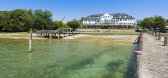 Isla de Reichenau - el lago de Constanza, Baden-wurttemberg, alemana Imagen de archivo libre de regalías